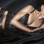 Нижнее женское бельё чёрного цвета – неизменная классика и выбор уверенной в себе женщины